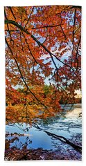 French Creek 15-110 Hand Towel by Scott McAllister