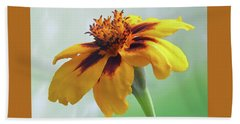 French Marigold Bath Towel