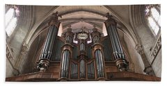 French Organ Hand Towel by Christin Brodie