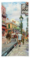 French Quarter Antiques Bath Towel