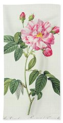 French Rose Bath Towel