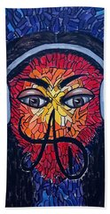Frequencial - Abstract Art Music Painting - Ai P.nilson Bath Towel