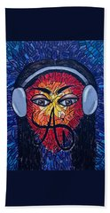Frequencial - Abstract Art Music Painting - Ai P.nilson Hand Towel
