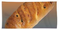 Fresh Baked Bread  Hand Towel