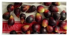 Bath Towel featuring the photograph Fresh Figs by Kim Nelson