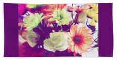 Fresh Flowers Hand Towel