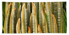 Fresh Fronds Bath Towel