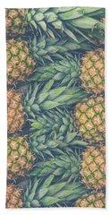 Fresh Market Pineapples Hand Towel