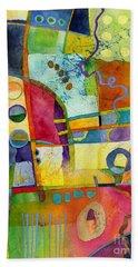Fresh Paint Hand Towel by Hailey E Herrera