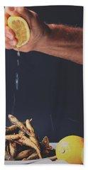 Fried Fish Hand Towel