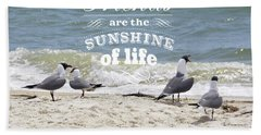 Bath Towel featuring the photograph Friends In Life by Jan Amiss Photography