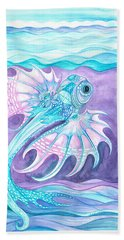 Frilled Fish Hand Towel