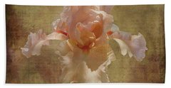 Frilly Iris Hand Towel