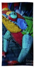 Hand Towel featuring the photograph Frog Prince by Mary Machare