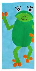 Froggie Bath Towel
