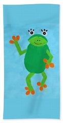 Froggie Hand Towel