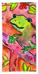 Froggy Hand Towel
