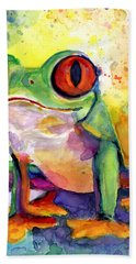 Froggy Mcfrogerson Hand Towel