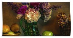 From The Garden To The Table Hand Towel by John Rivera