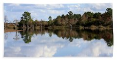 From The Lake To The Channel  Hand Towel by Debra Forand