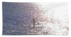 From The Sea Detail Hand Towel by Felipe Adan Lerma