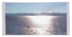 From The Sea Poster Hand Towel by Felipe Adan Lerma