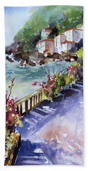 From The Walkway Bath Towel by Rae Andrews