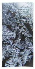 Frost Branches Hand Towel