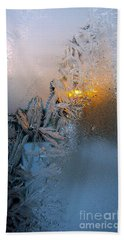 Frost Warning Hand Towel
