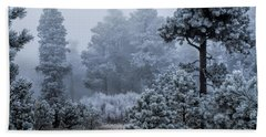 Frosted Hand Towel by Alana Thrower
