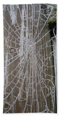 Frosty Web Bath Towel