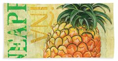 Froyo Pineapple Hand Towel by Debbie DeWitt