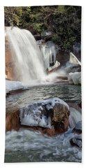 Frozen Douglas Falls Hand Towel