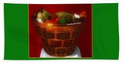 Fruit  Art 5 Bath Towel