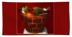 Fruit  Art 6 Bath Towel