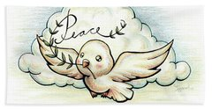 Fruit Of The Spirit Peace Hand Towel