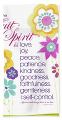 Fruit Of The Spirit Bath Towel