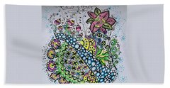 Fruit Of The Spirit Bath Towel by Carole Brecht