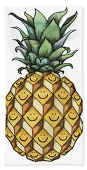 Fruitful Hand Towel by Kelly Jade King