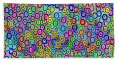 Bath Towel featuring the digital art Fruity Loops Fun by Riana Van Staden
