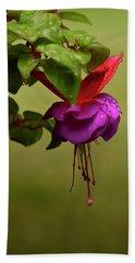 Fuchsia Fuchsia Bath Towel by Ann Bridges