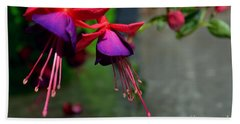 Fuchsia Original Photo Hand Towel