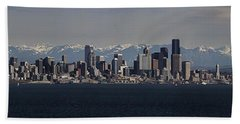 Full Frontal Seattle Hand Towel