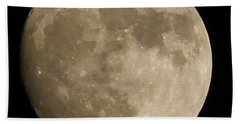 Full Moon 2016 Bath Towel