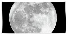 Full Moon Bath Towel