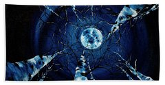 Full Moon Hand Towel
