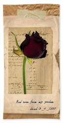 Funeral For A Friend Hand Towel by Gillian Singleton