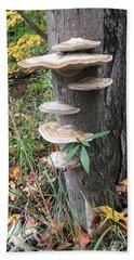 Fungi Bath Towel by Christine Lathrop