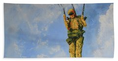 Fury From The Sky  Bath Towel