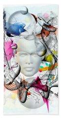 Future Of Life By Nico Bielow Bath Towel